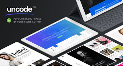 Download Uncode v1.6.0 Multiuse Wordpress Themme Free