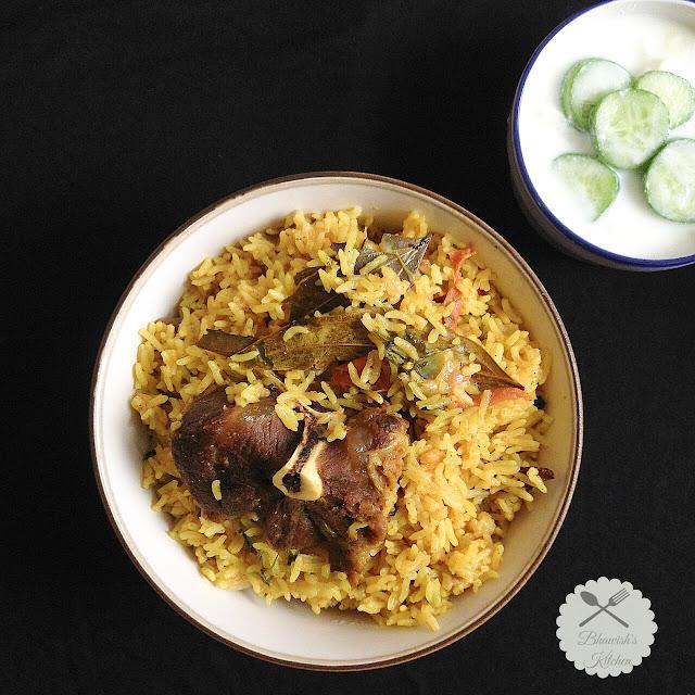 Mutton Briyani | Gosht Briyani