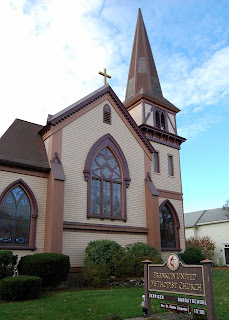 Franklin United Methodist Church, 82 W. Central St.