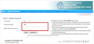 Cara Mengubah Password Bio UN SMA/MA