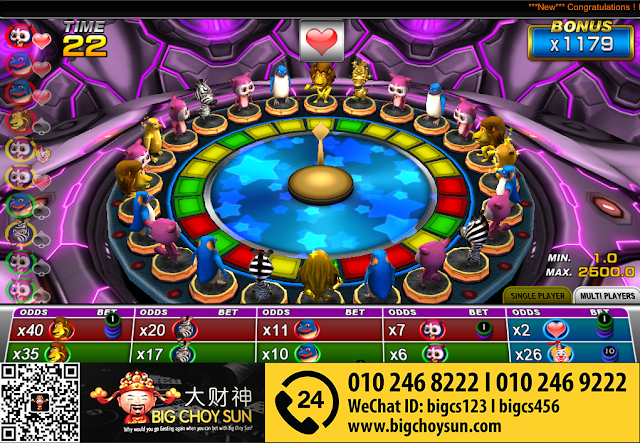 Clubsuncity Casino | Animal Band | Malaysia Online Slot Game
