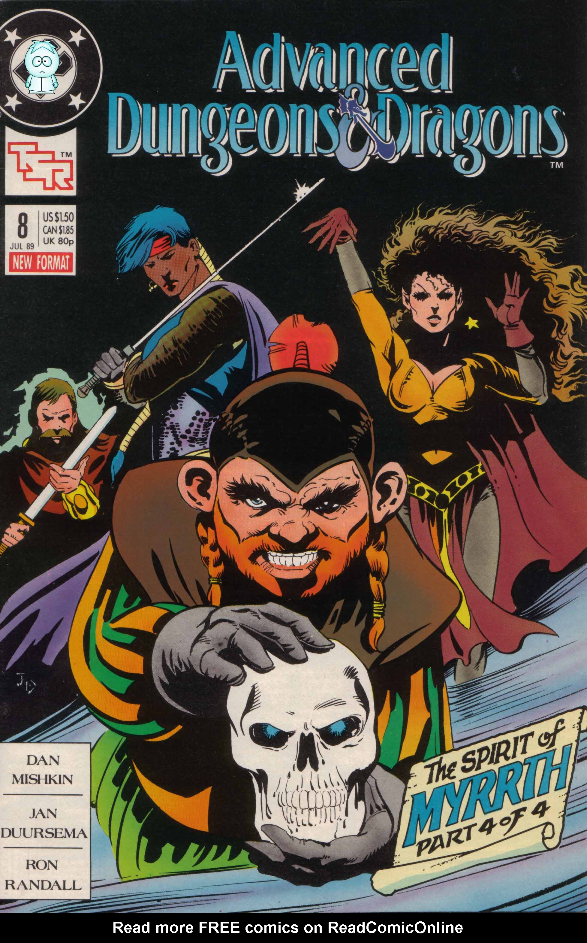 Read online Advanced Dungeons & Dragons comic -  Issue #8 - 1