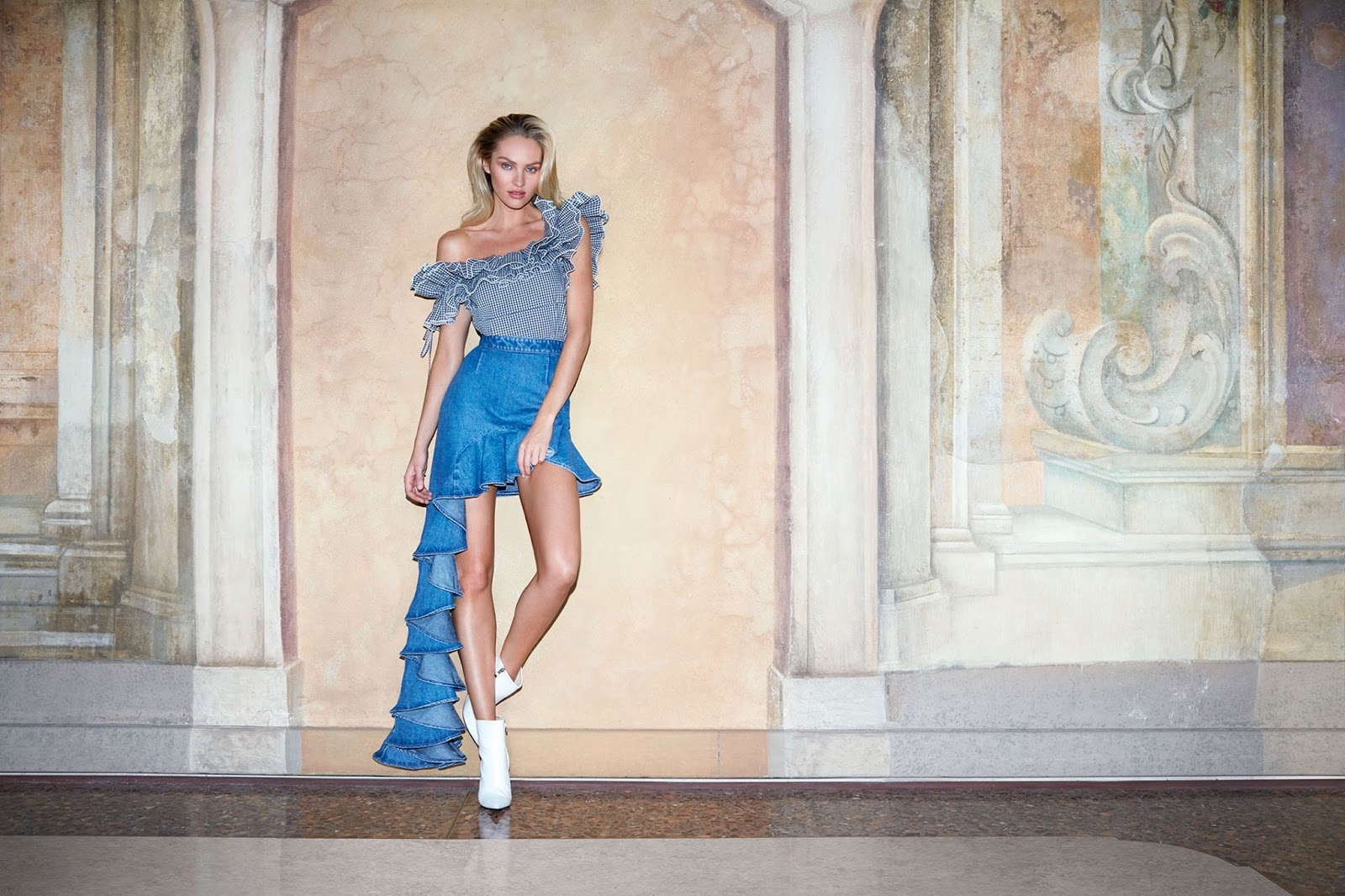 Miss Sixty Spring Summer 2018 Campaign starring Candice Swanepoel