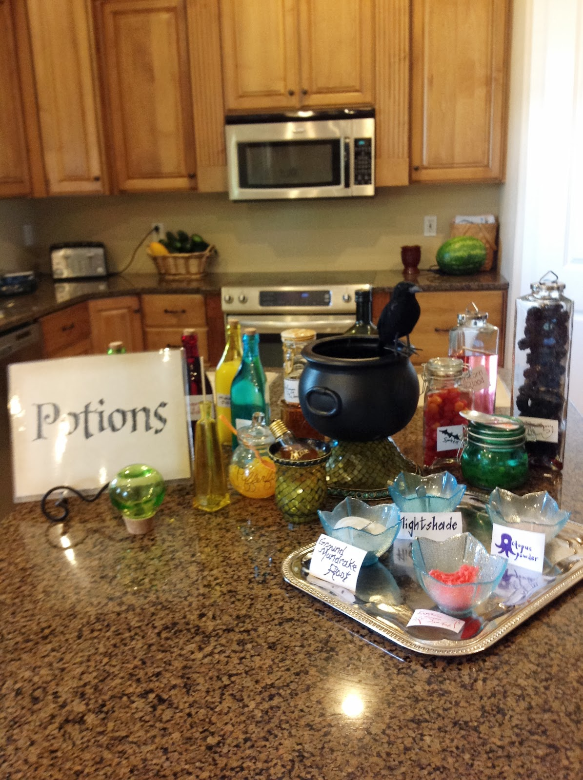 Puddle Wonderful Learning Harry Potter Party Potions Class