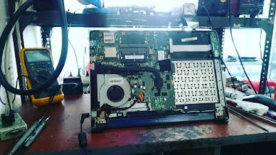 service laptop asus k46c mati total