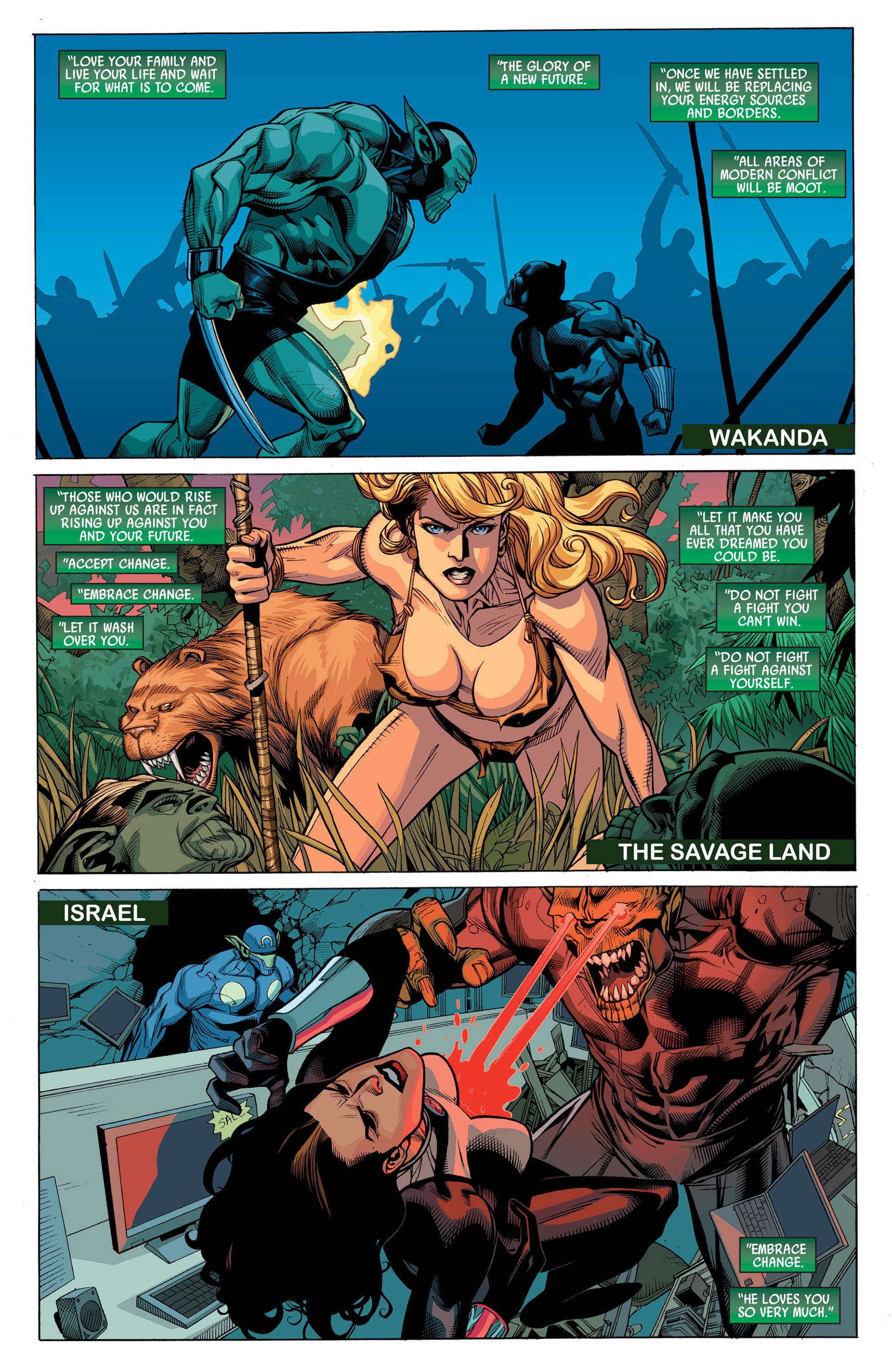 Read online Secret Invasion comic -  Issue #6 - 6