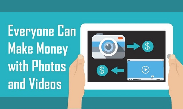 Image: Everyone Can Make Money with Videos and Photos #infographic