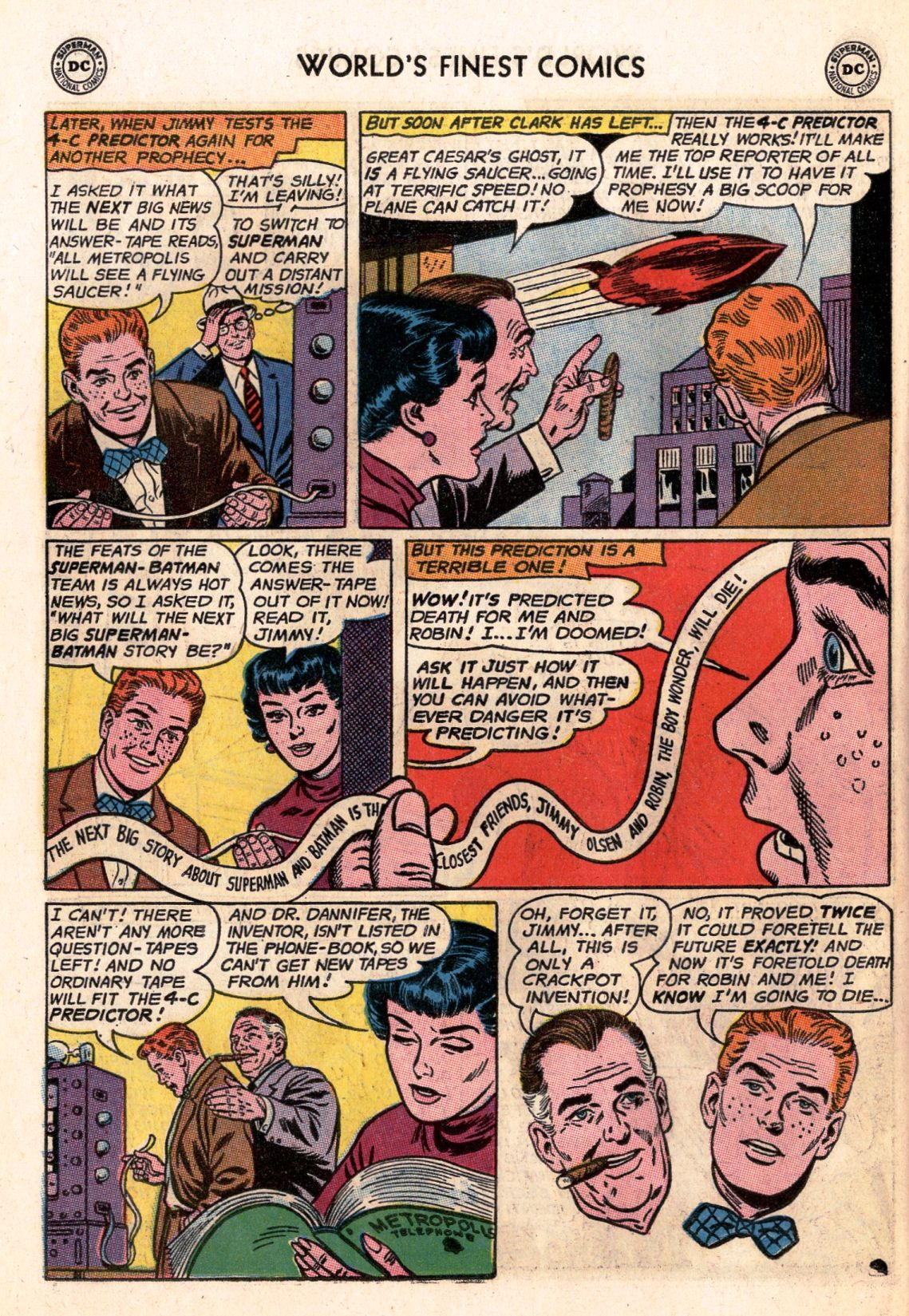 Read online World's Finest Comics comic -  Issue #141 - 6