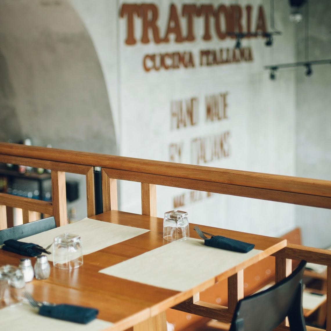 Trattoria cucina italiana st moritz jakarta for Cucina italiana