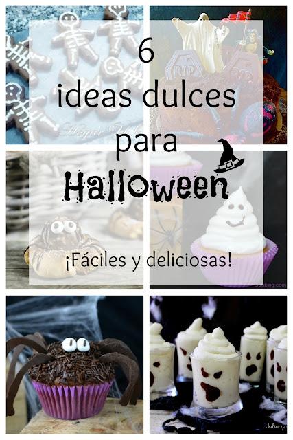 6 Ideas Dulces Para Halloween ¡fáciles Y Deliciosas!