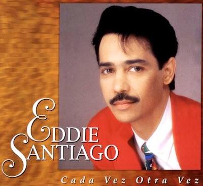 Foto de Eddie Santiago en portada de disco