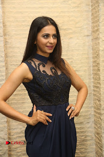 Actress Rakul Preet Singh Stills in Beautiful Blue Long Dress at Dhruva Salute to Audience Event  0038.JPG