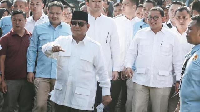 Prabowo: Hasil Exit Poll 55,4 Persen Kita Menang dan Hasil Quick Count 52,2 Persen