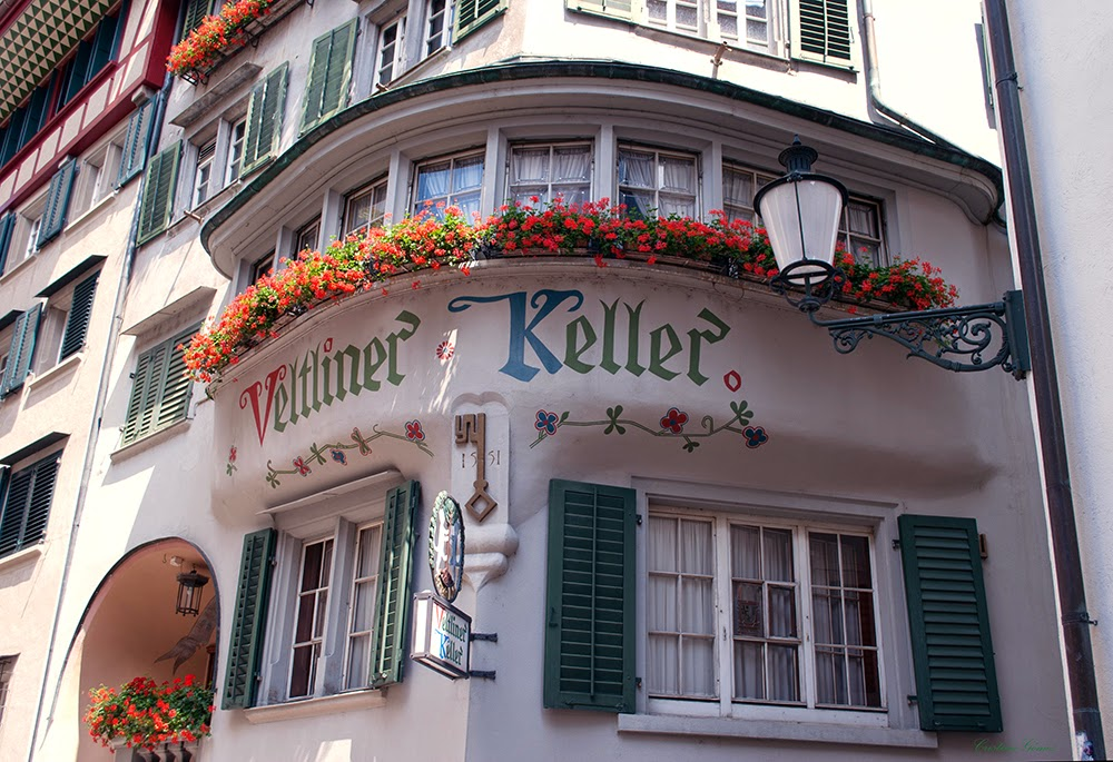 Balconies of Switzerland