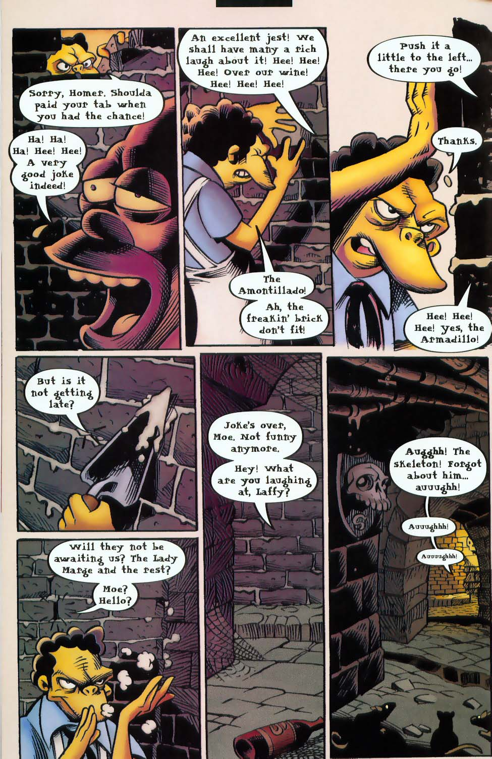 Read online Treehouse of Horror comic -  Issue #9 - 30