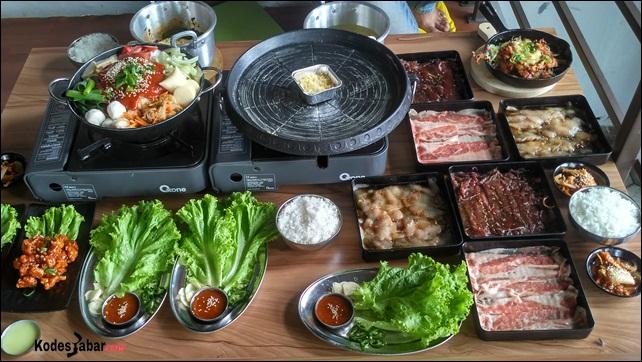 Fat Oppa, Korean Food Paling Murah di Bandung
