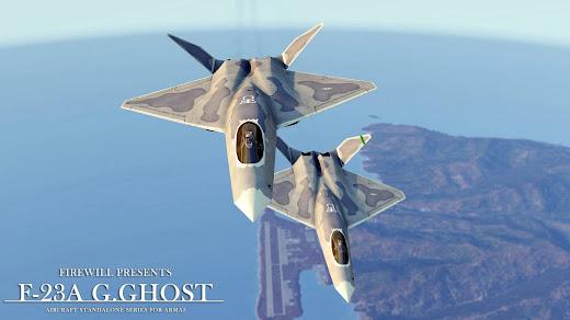 Arma3用のYF-23A Grey Ghost MOD