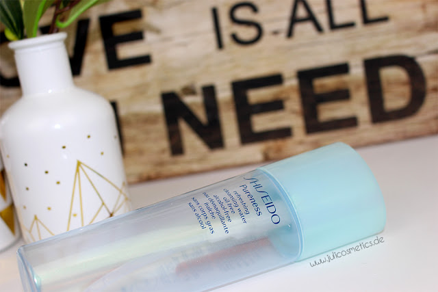 Shiseido-Pureness-refreshing-cleansing-water-oil-free