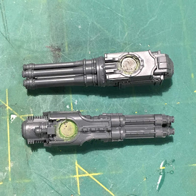 Titanicus WIP Reaver Titan Weapon Magnets