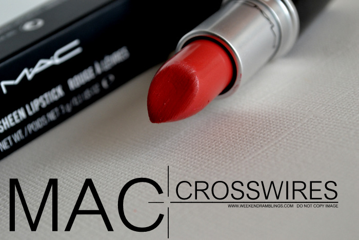 MAC Cremesheen Lipstick Crosswires