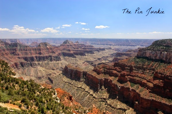 north rim Grand Canyon Arizona