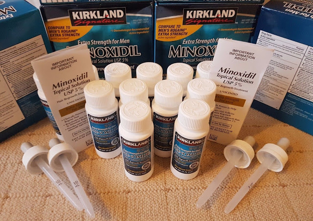 New Kirkland Minoxidil 5% Extra Strength Men Hair Regrowth Exp. Date 2018