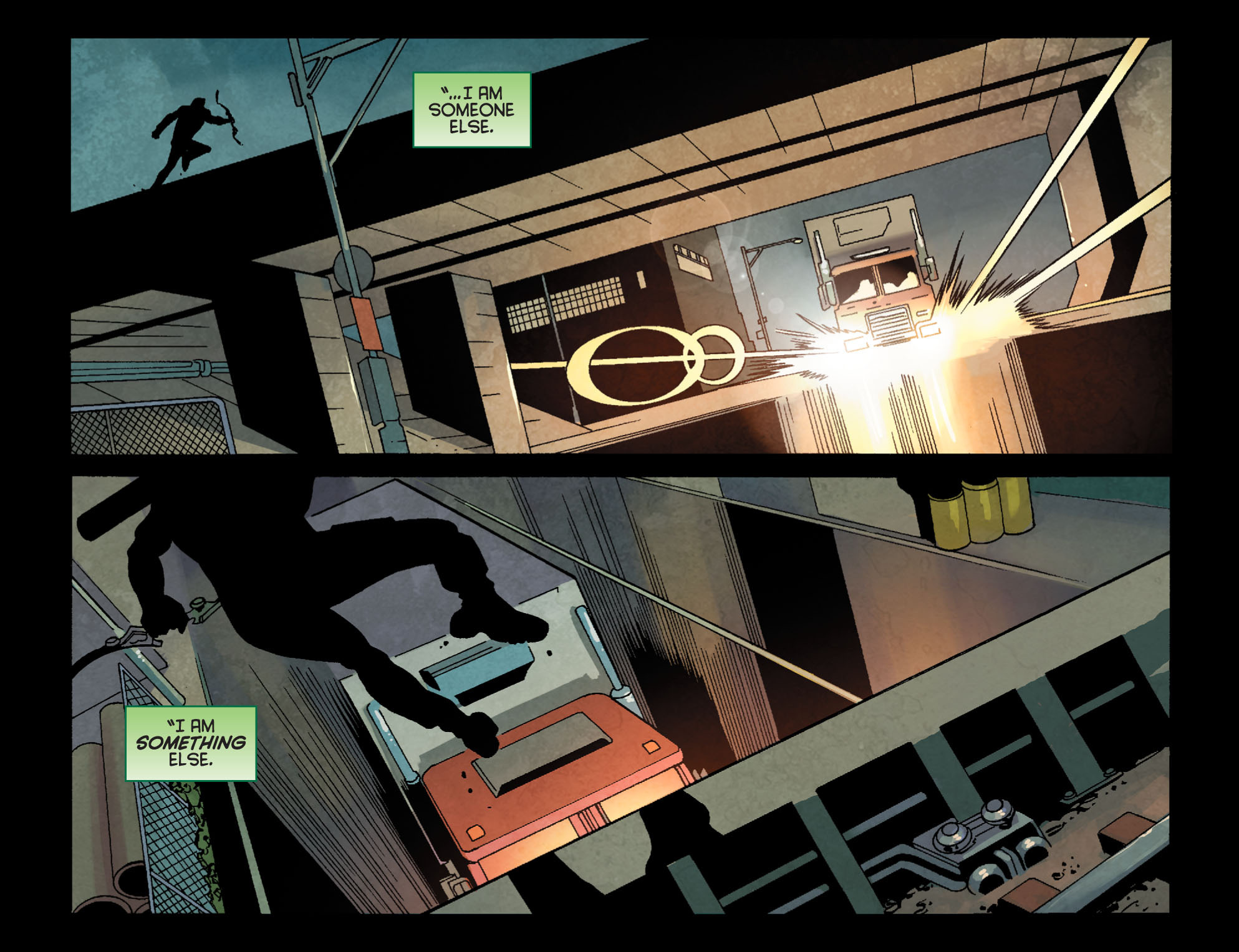 Read online Arrow: Season 2.5 [I] comic -  Issue #24 - 21