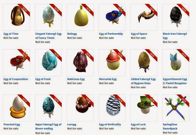 Unofficial Roblox: Roblox Egg Hunt 2014 - Map, Eggs and Items!