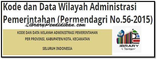 Kode dan Data Administrasi Pemerintah Per Provinsi, Kabupaten/Kota, Kecamatan Seluruh Indonesia
