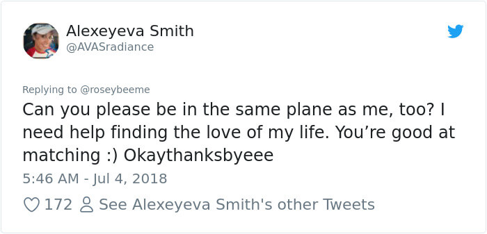 Woman Live-Tweets Two Total Strangers Flirting On An Airplane. She Did Not Expect How This Escalated!