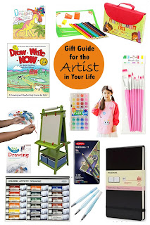 Gifts for Artists- a gift guide from In Our Pond