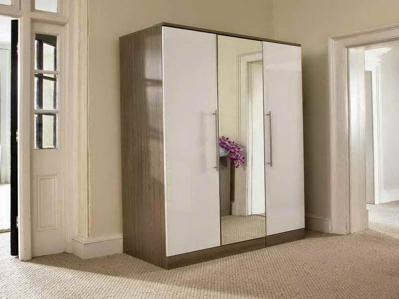 model lemari pakaian minimalis modern