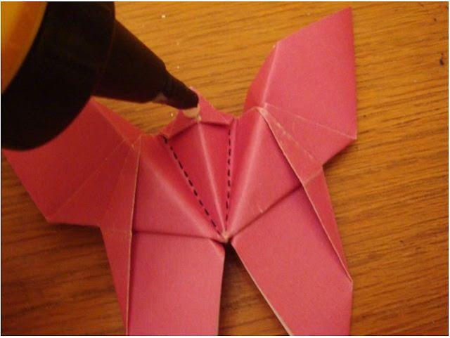 Belajar Cara Membuat Origami Kupu-Kupu
