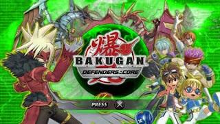 Cheat Bakugan: Defenders Of The Core PSP