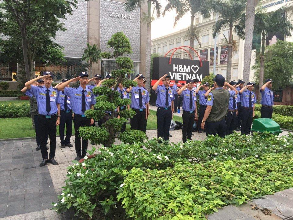 Việt Nhật Yuki Sepre 24 với vai trò chính trong công tác đảm bảo an ninh tại sự kiện