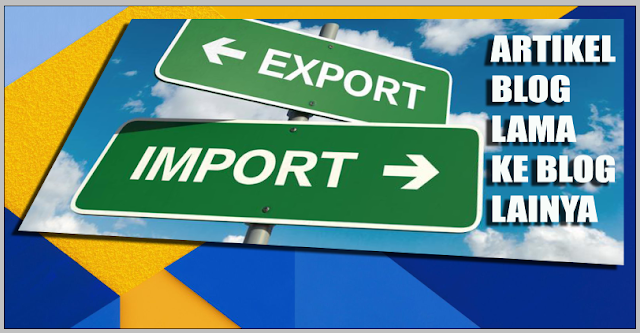 export import artikel blog