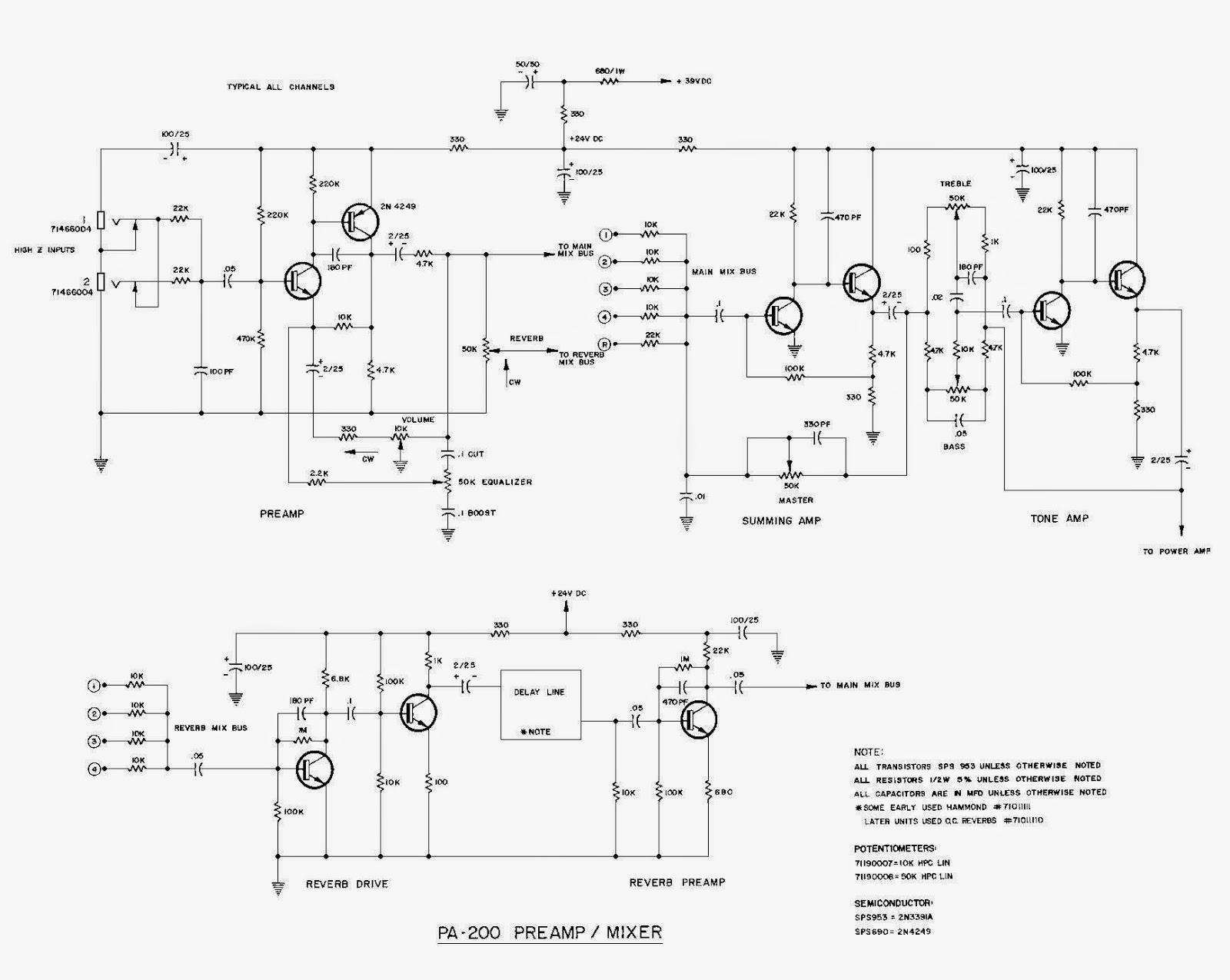 100+ Peavey Schematics Service Manuals 680s – yasminroohi