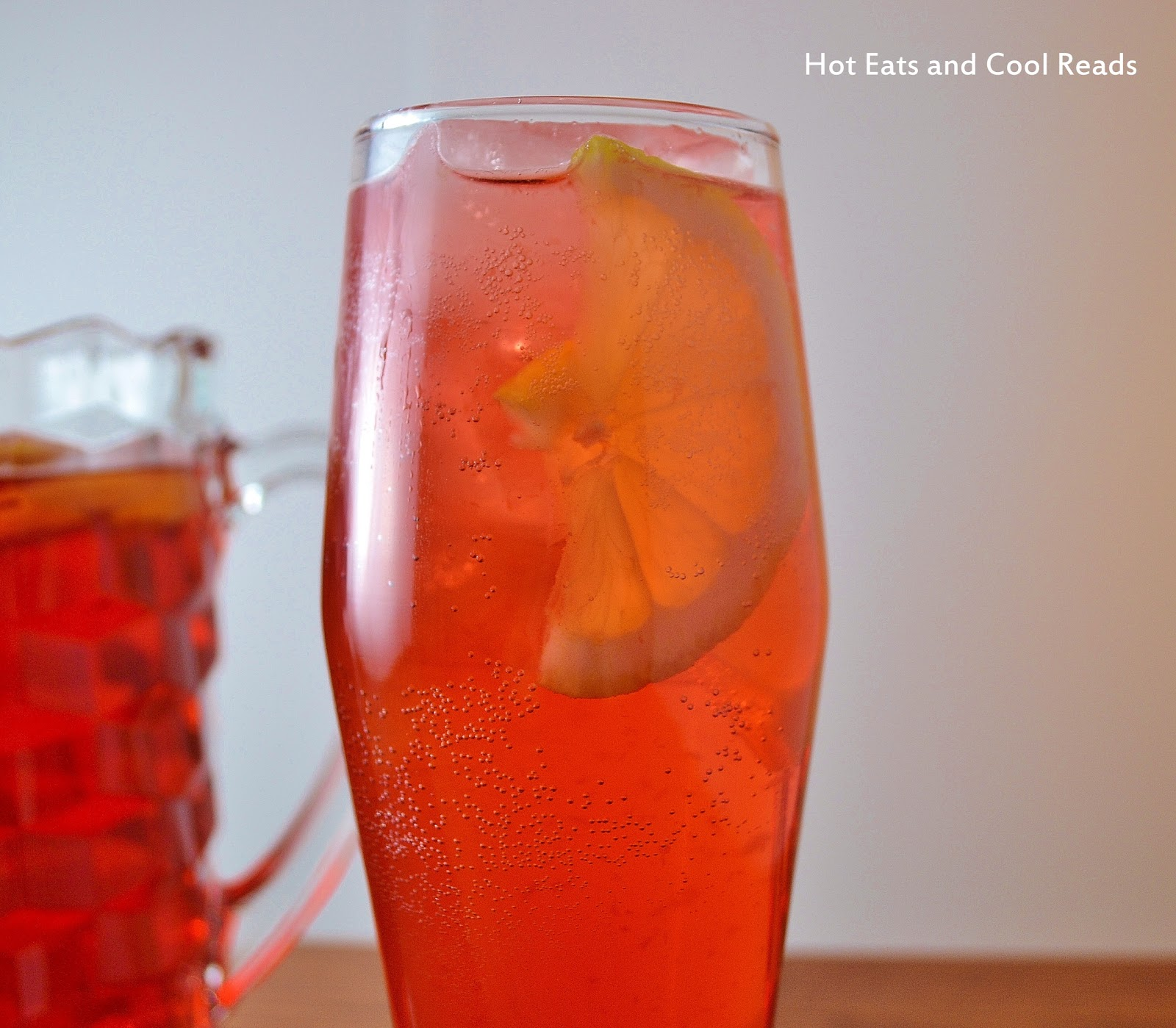 Hot Eats and Cool Reads: Sparkling Apple Cider Punch Recipe