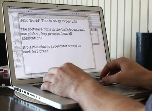 Technology World: Noisy Typer: Make Your Keyboard Sound Like