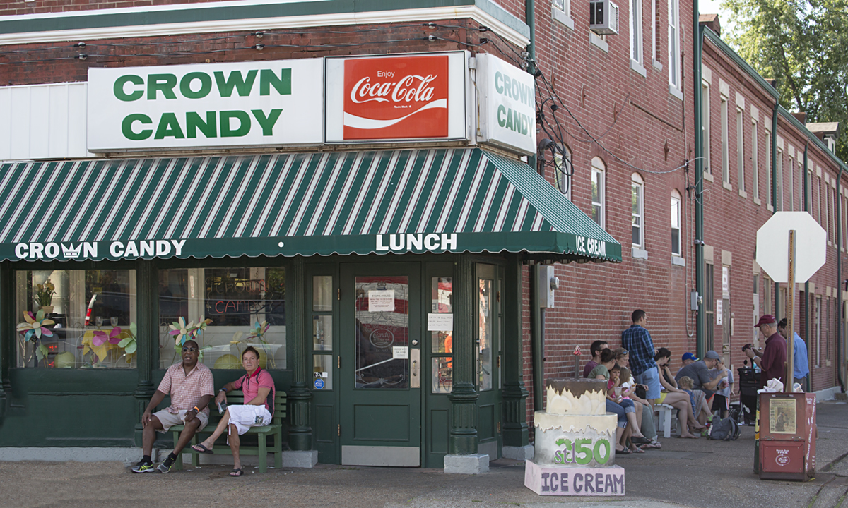 St. Louis Daily Photo: Crown Candy Kitchen