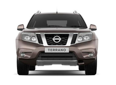 Nissan Terrano AMT front view
