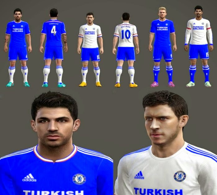 PES 2013 PC: Kit set 2015/2016 Chelsea