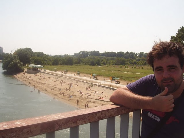playa de Transnistria, rio dnister