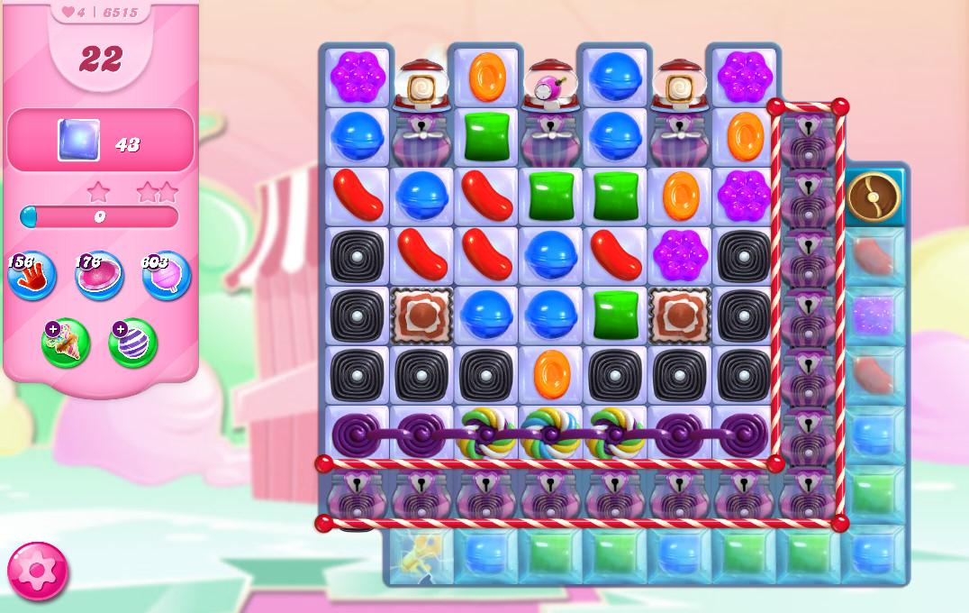 Candy Crush Saga level 6515