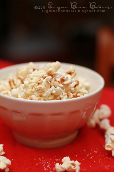 Sugar Bean Bakers: { Cinnamon Butter Popcorn }