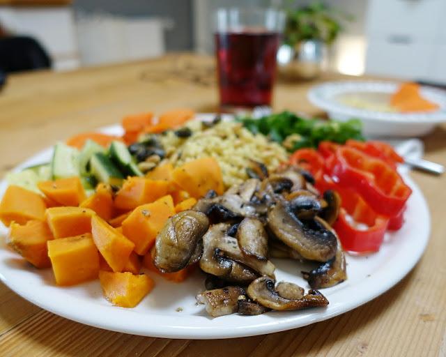 Ich bin jetzt Wochentag-Vegetarier.