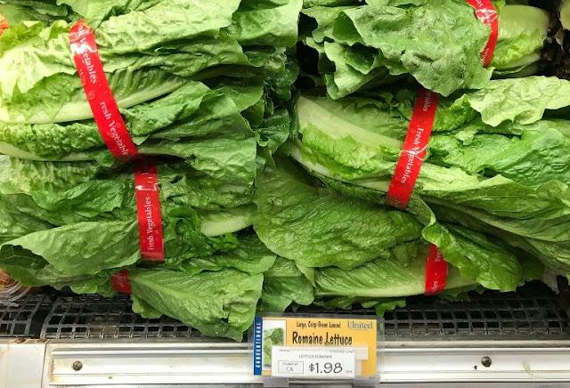 First US death in romaine lettuce E.coli outbreak