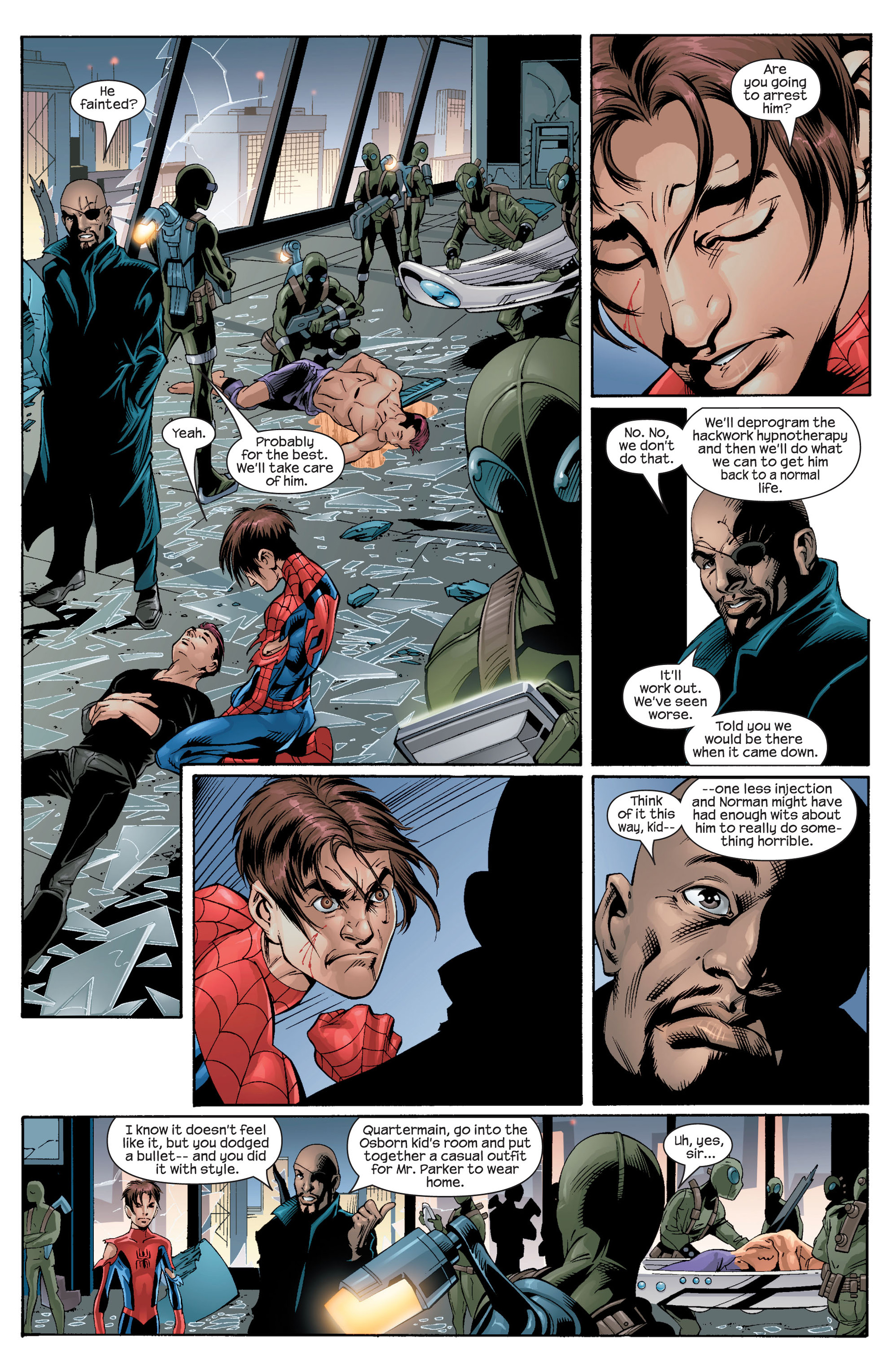 Read online Ultimate Spider-Man (2000) comic -  Issue #27 - 12