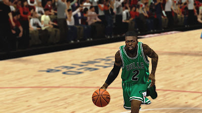 NBA 2K13 Nate Robinson Cyberface Playoffs