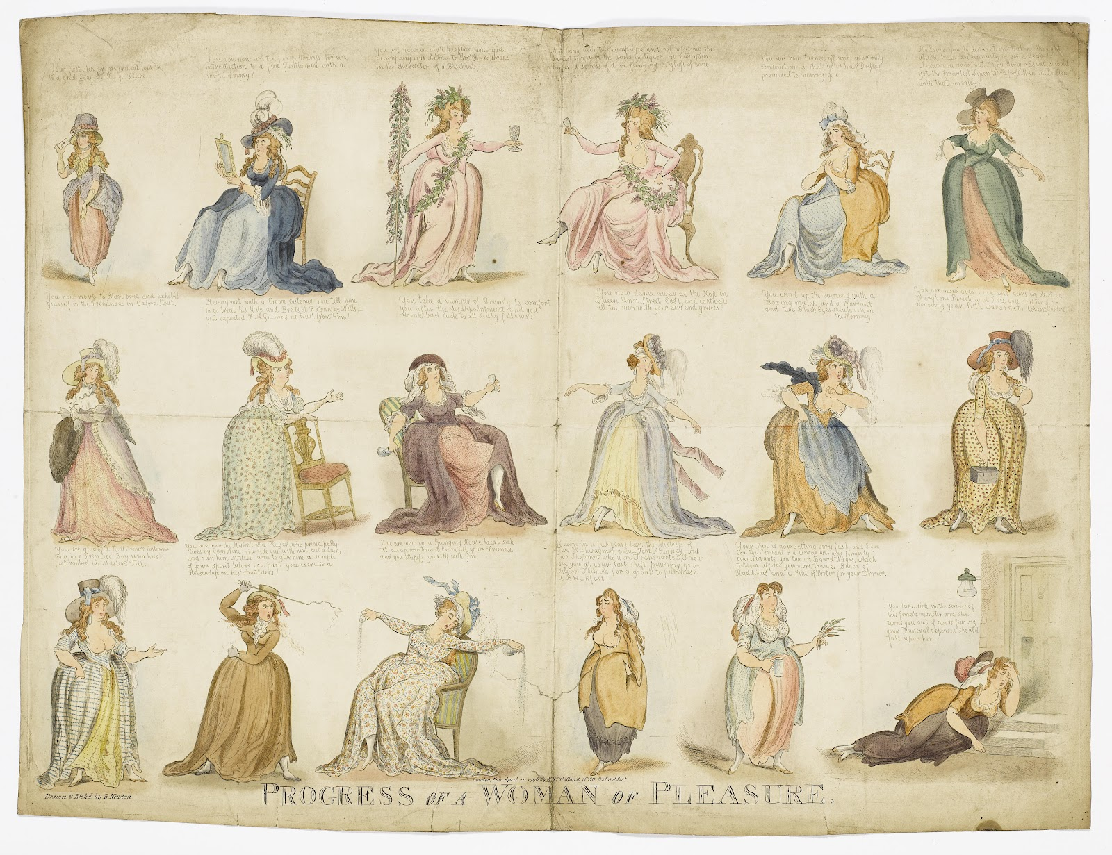The 'Progress of a Woman of Pleasure', 1796